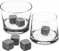 Камни для виски и напитков Whiskey Stones 9шт.