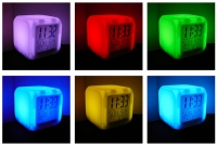 Электронные часы KS-C0513A (светящийся куб)