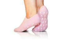 Силиконовые гелевые SPA носочки розовые