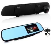 Зеркало-видеорегистратор с камерой заднего вида blackbox DVR