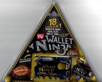 Мультитул Wallet ninja 18в1 (кредит. карт.)