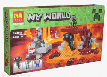 """Конструктор BELA My World """"Иссушитель"""" 324дет. 10469"""