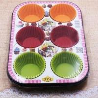 Набор форм для кексов 6в1