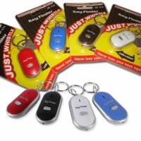 Брелок для поиска ключей (реагирует на свист)