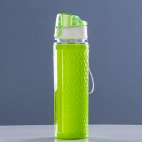 Бутылка для воды 600 мл, спортивная, монолит, 6.5х24 см