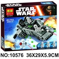 """Конструктор BELA  Star Wars """"Снежный спайдер"""" 463 дет. 10576"""