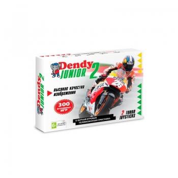 Игровая приставка Dendy Junior 2 Classic 300-in-1+пистолет
