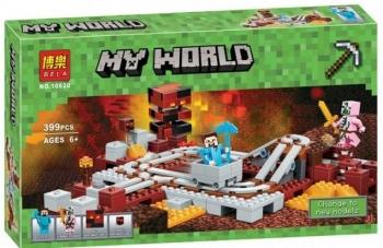 """Конструктор BELA MY WORLD """"Подземная железная дорога"""" 399 дет. 10620"""