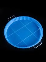 Форма для пирога, с металлической подставкой, размер 30х3 см