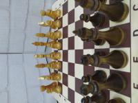 Шахматные фигуры дервянные (по 1шт) без доски