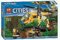 """Конструктор """"Грузовой вертолет исследователей джунглей"""", 10709"""