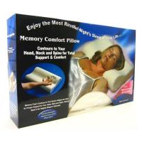 Ортопедическая подушка с памятью Memory Foam Pillow, полиуретан
