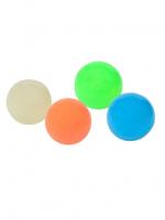 Антистресс шарики липкие и светящиеся , 4шт